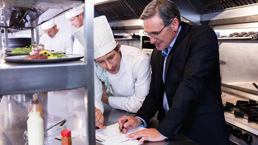 Cuisinier en formation